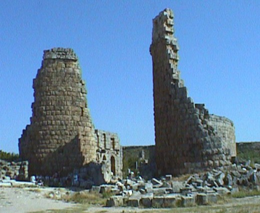 Gate Towers of Perge in Pamphylia